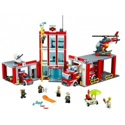 Lego City - Fire Station 60110 (919 Piezas)