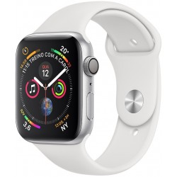 Apple Watch S4 (GPS+Cellular) Caja Aluminio 44mm Pulsera Deportiva Blanca