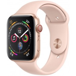 Apple Watch S4 (GPS+Cellular) Caja Aluminio 44mm pulsera Deportiva Arena Rosa