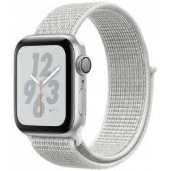 Apple Watch S4 Nike+ (GPS) Caja Alumínio 40mm Pulsera Loop Deportiva Blanco