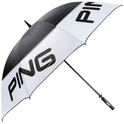 Sombrilla Ping Tour Double Canopy 33420-02 Blanco 68""