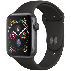 Apple Watch S4 (GPS) Caja Aluminio 40mm pulsera deportiva Negra - MU642LZ