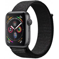 Apple Watch S4 (GPS) Caja Aluminio 40mm pulsera deportiva negra