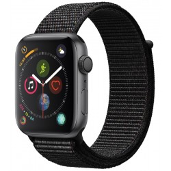 Apple Watch Series 4 (GPS) Caja Aluminio 44mm pulsera loop deportiva negra