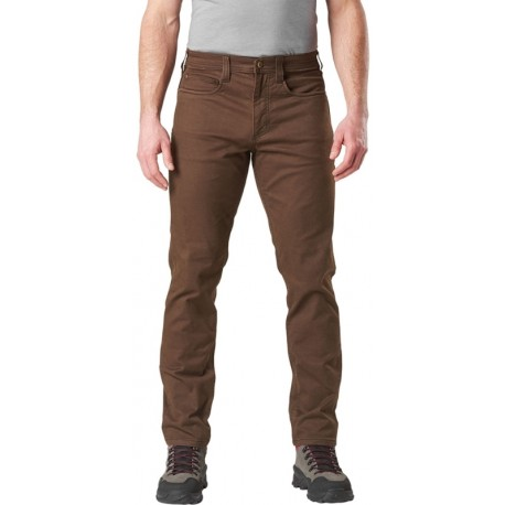 Jean 5.11 Tactical Defender-Flex Slim 74464-117 Burnt Masculino