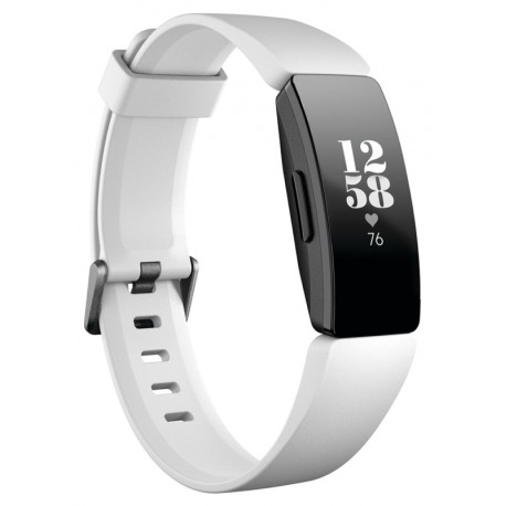 SmartWatch Fitbit Inspire HR Fitness Tracker Blanco (Small/Large)