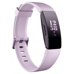 SmartWatch Fitbit Inspire HR Fitness Tracker Lila (Small/Large)