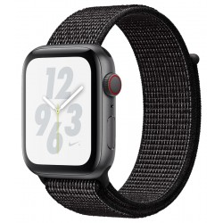 Apple Watch S4 Nike+ (GPS) Caja Aluminio 40mm Pulsera Loop Deportivo Negro