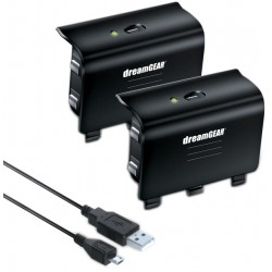 Batería para control Xbox One DreamGEAR Charge Kit