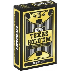 Baraja Copag Texas Hold'em - Bridge Size