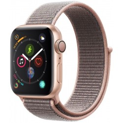 Apple Watch S4 (GPS) Caja Aluminio 40mm pulsera deportiva arena rosa