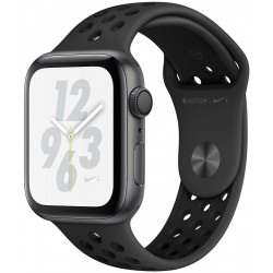 Apple Watch Series 4 Nike+ (GPS) Caja Aluminio 44mm pulsera sport carbono/negro MU6L2LZ