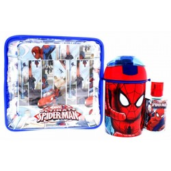 Kit Perfume Marvel Utimate Spider-Man EDT 50mL + Vaso + Bolso - Infantil