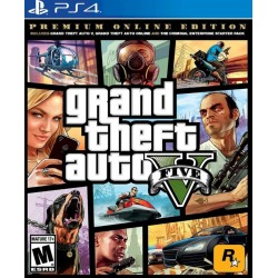 Juego GTA 5 Grand Theft Auto Premium Edition - PS4