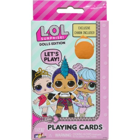 L.OL. Surprise! Dolls Edition Playing Cards