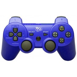 Control Play Game Wireless Dualshock PS3 Blister - Azul
