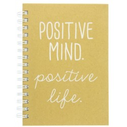 Cuaderno Espiral Graphique Positive Mind 160 Paginas SB3013A5