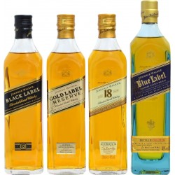 Whisky Johnnie Walker Collection Pack 4x200mL