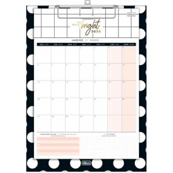 Calendario Planner con Planillero West Village 2020 Tilibra 12 Paginas