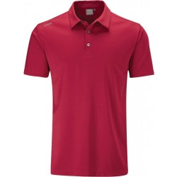 Camisa Polo Ping Harrison Solid Golf P03305 R696 Rich Red