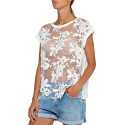 Camiseta Replay W3997A.10240.100 - Feminina