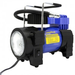 Mini Compressor de Ar Goodyear GY-AC-3001L 150PSI 12V com luz LED