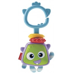 Sonajero Mini Monstruos Fisher Price FTM06 - Variados