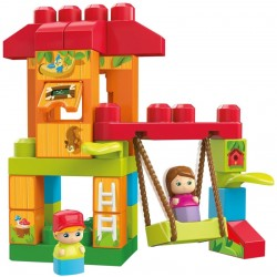 Bloques Fisher-Price Mega Blocks Casita del Árbol - DXH37