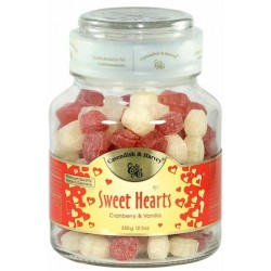 Caramelo de Frutas Cavendish & Harvey Sheet Hearts - 350g