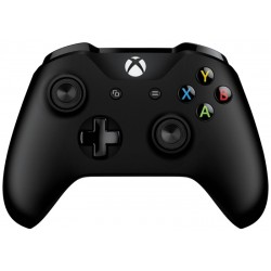 Controlador Inalámbrico Xbox + Adaptador USB para Windows 10 - Negro