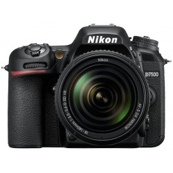 Cámara Digital Nikon D7500 Kit 18-140 VR 20.9 MP 4K/Bluetooth/NFC/Wi-Fi