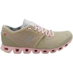 Calzado On Running Cloud X 20.99904 Sand/Rose - Femenino