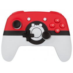 Control Inalambrico para Nintendo Switch PowerA Poké Ball Series - Blanco/Rojo