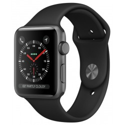 Apple Watch S3 (GPS) Caja Aluminio 42mm Pulsera Deportiva Negro - MTF32BZ/A