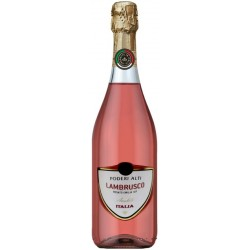 Espumante Rosa Poderi Alti Lambrusco Amabile - 750mL