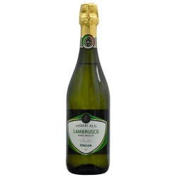 Espumante Blanco Poderi Alti Lambrusco Amabile - 750mL