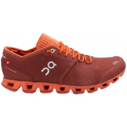 Calzado On Running Cloud X 20.99905 Sienna/Rust - Masculino