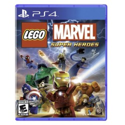 Juego Lego Marvel Super Heroes WB Games - PS4