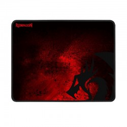 Mouse Pad Redragon P016 PISCES Negro/Rojo Small