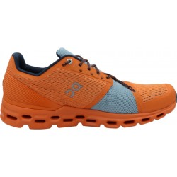 Calzado On Running Cloudstratus 29.99868 - Orange/Wash (Masculino)