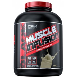 Nutrex Research Muscle Infusion Advanced Protein Blend - Vanilla (5 lbs - 2268g)