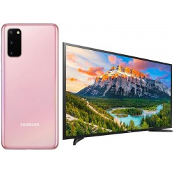 "Promoción Galaxy S20 128GB 6.2"" Pink + Smart TV 40"" 5290A"